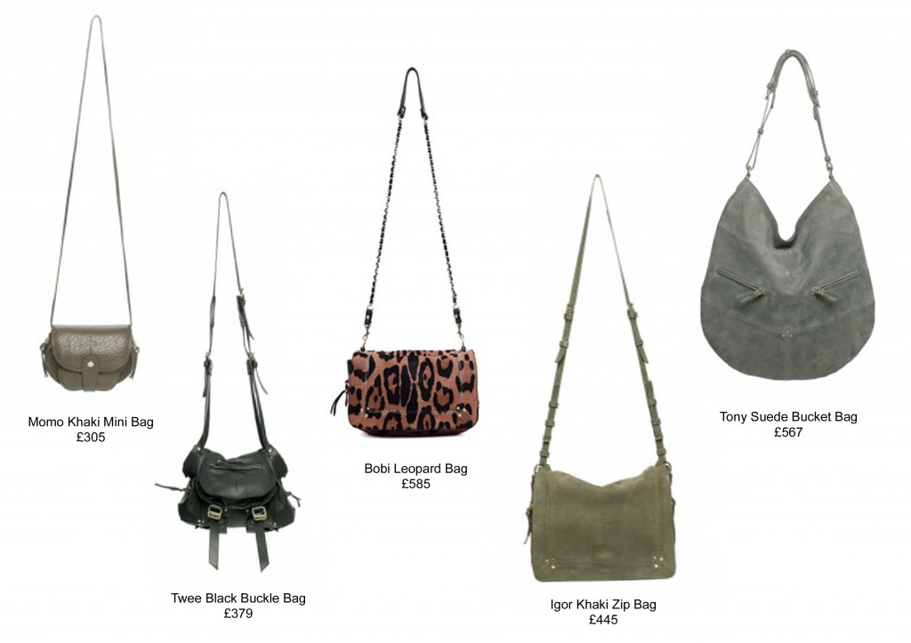 Our Jerome Dreyfuss handbag selection for AW13.