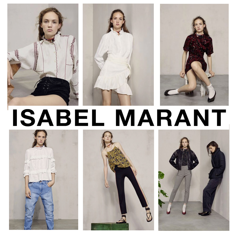 Isabel Marant SS17 Collection available at Iris Fashion